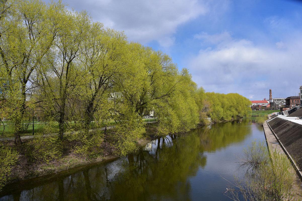 Набережная реки Исеть. - Наталья