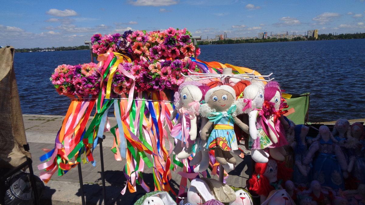 Украинский разноцветный вид на Днепр... - Алекс Аро Аро