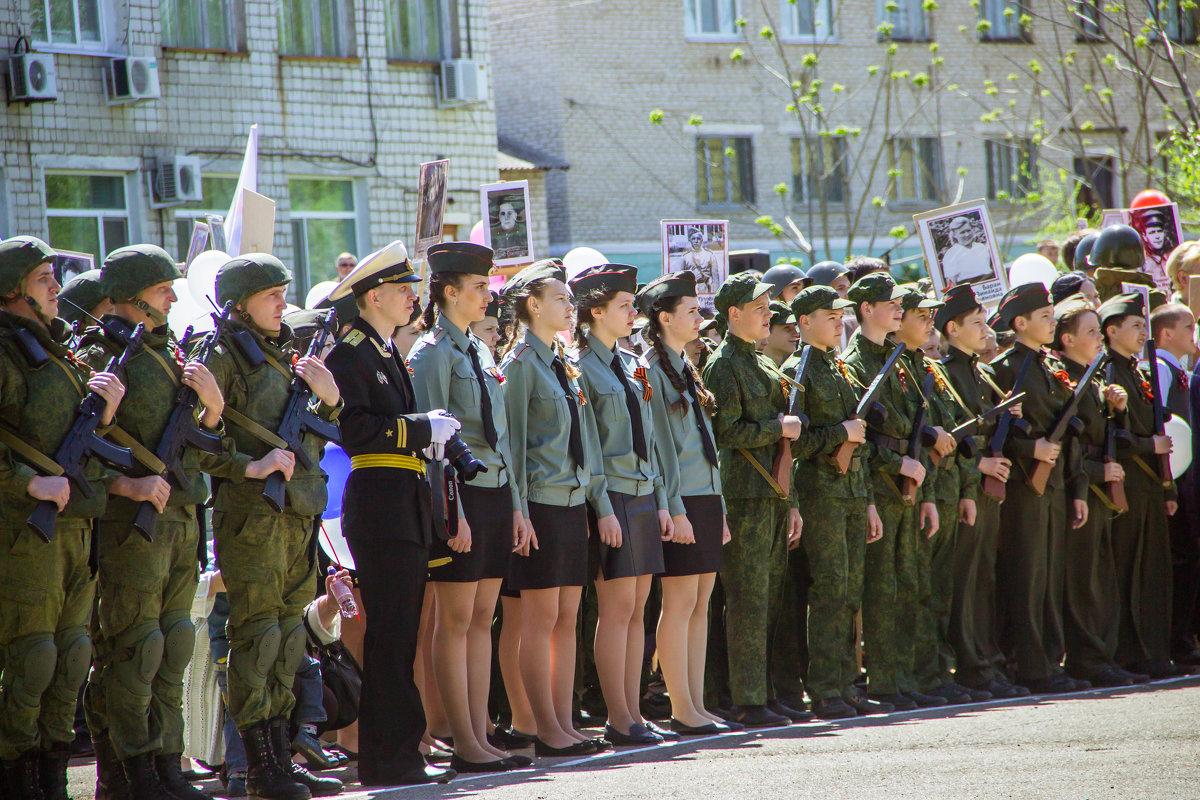 на параде - Tatyana Belova