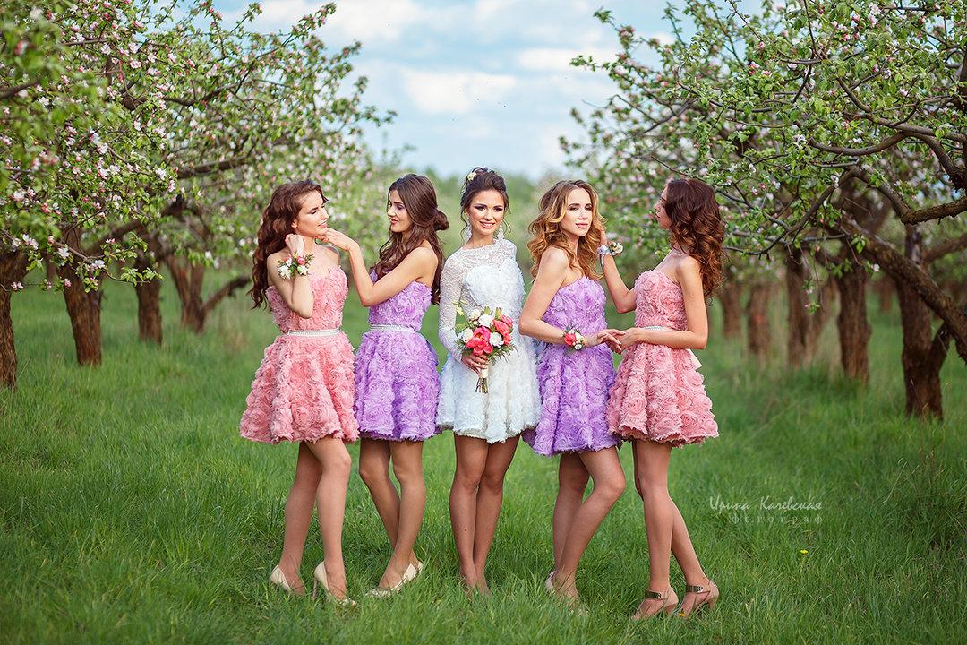 невеста и подружки - Ирина Kачевская