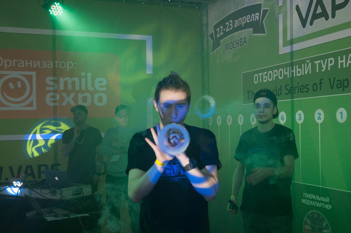 VapeShow Moscow 2017 - Дмитрий Бобадей