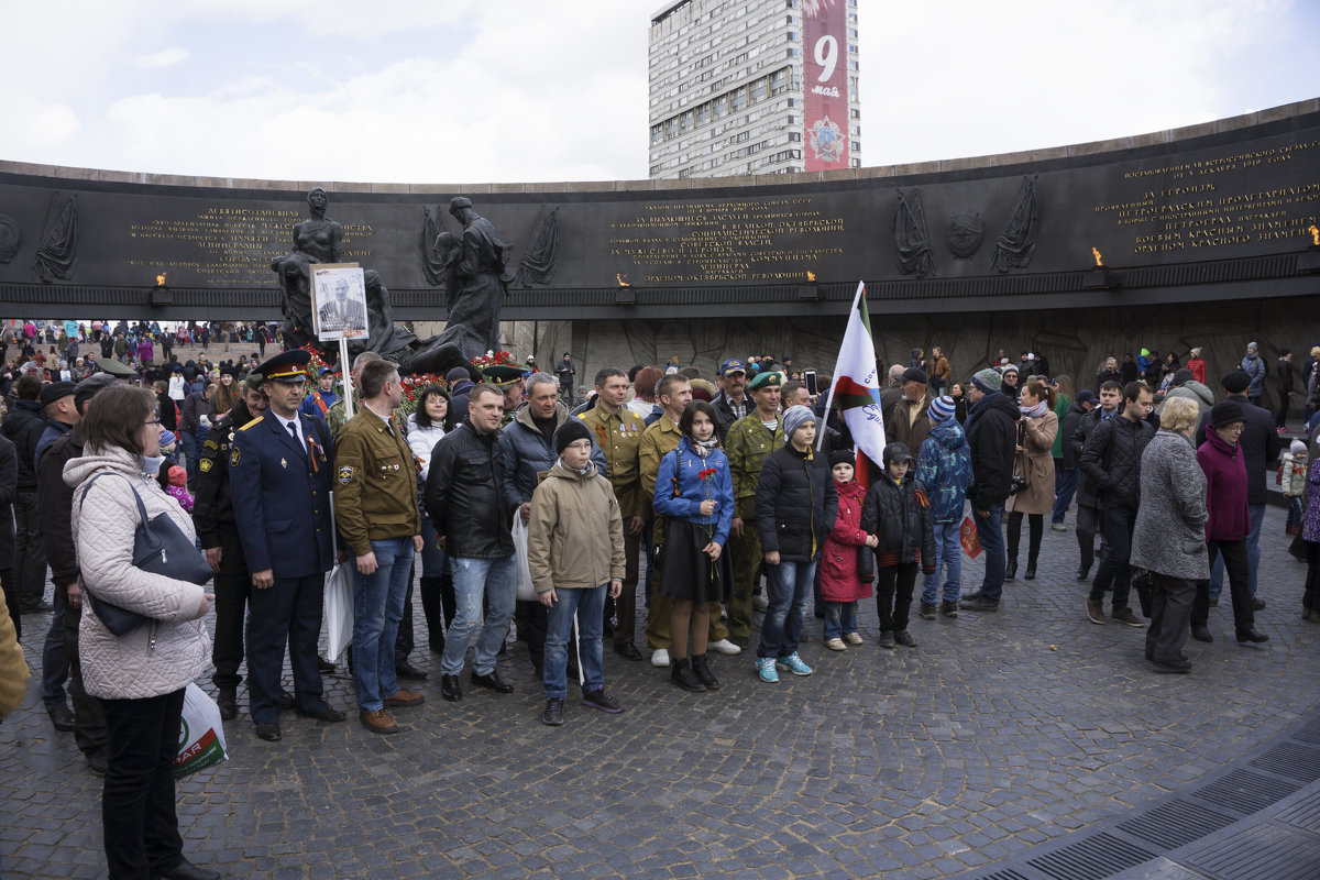 На площади Победы - Aнна Зарубина