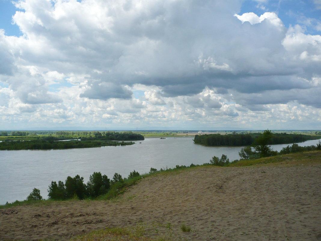Река Бия - Олег Афанасьевич Сергеев