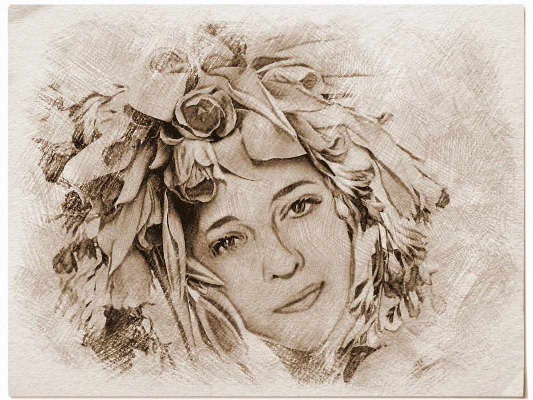 Весенний портрет - Елена