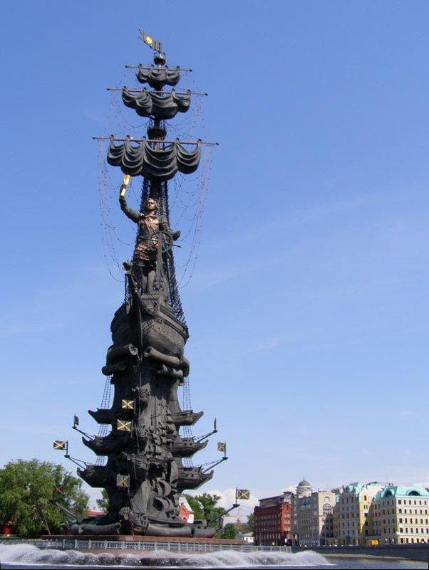 памятник Петру I - Анна Воробьева