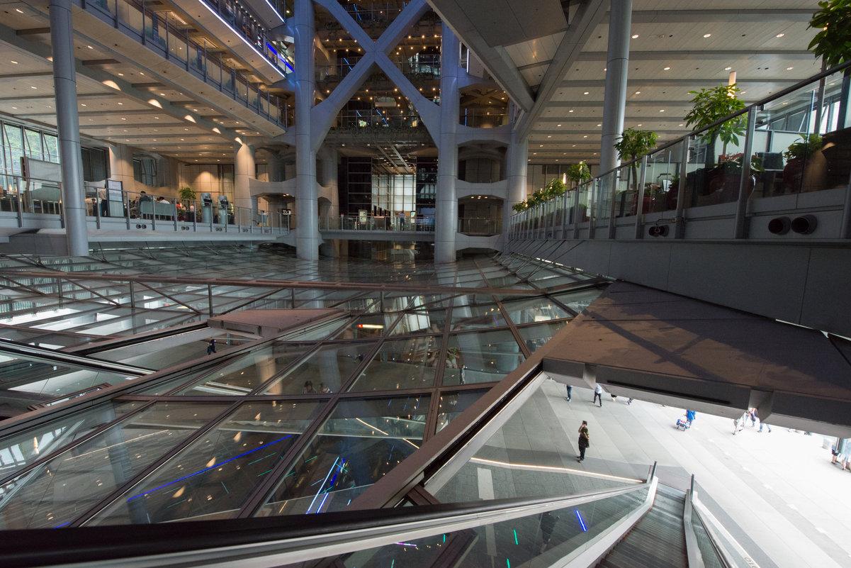 Здание банка HSBC в Гонконге. Проект архитектора Нормана Фостера - Sofia Rakitskaia