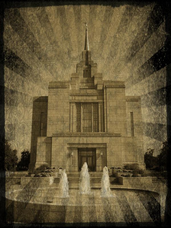 Украинский   Киевский   Храм   в   стиле   ретро - Андрей  Васильевич Коляскин