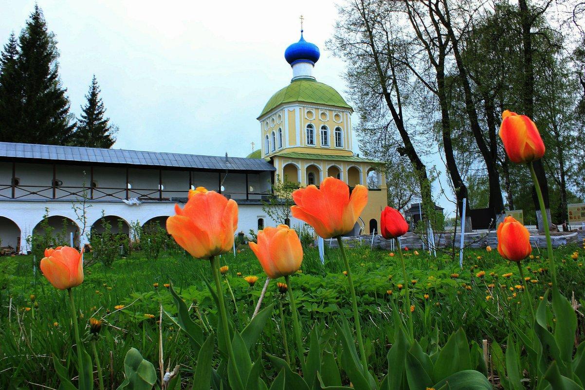 церковь Тихвинской Божей матери - Сергей Кочнев