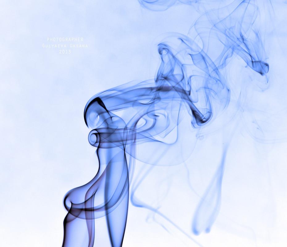 Рисует дым - Оксана Гуляева
