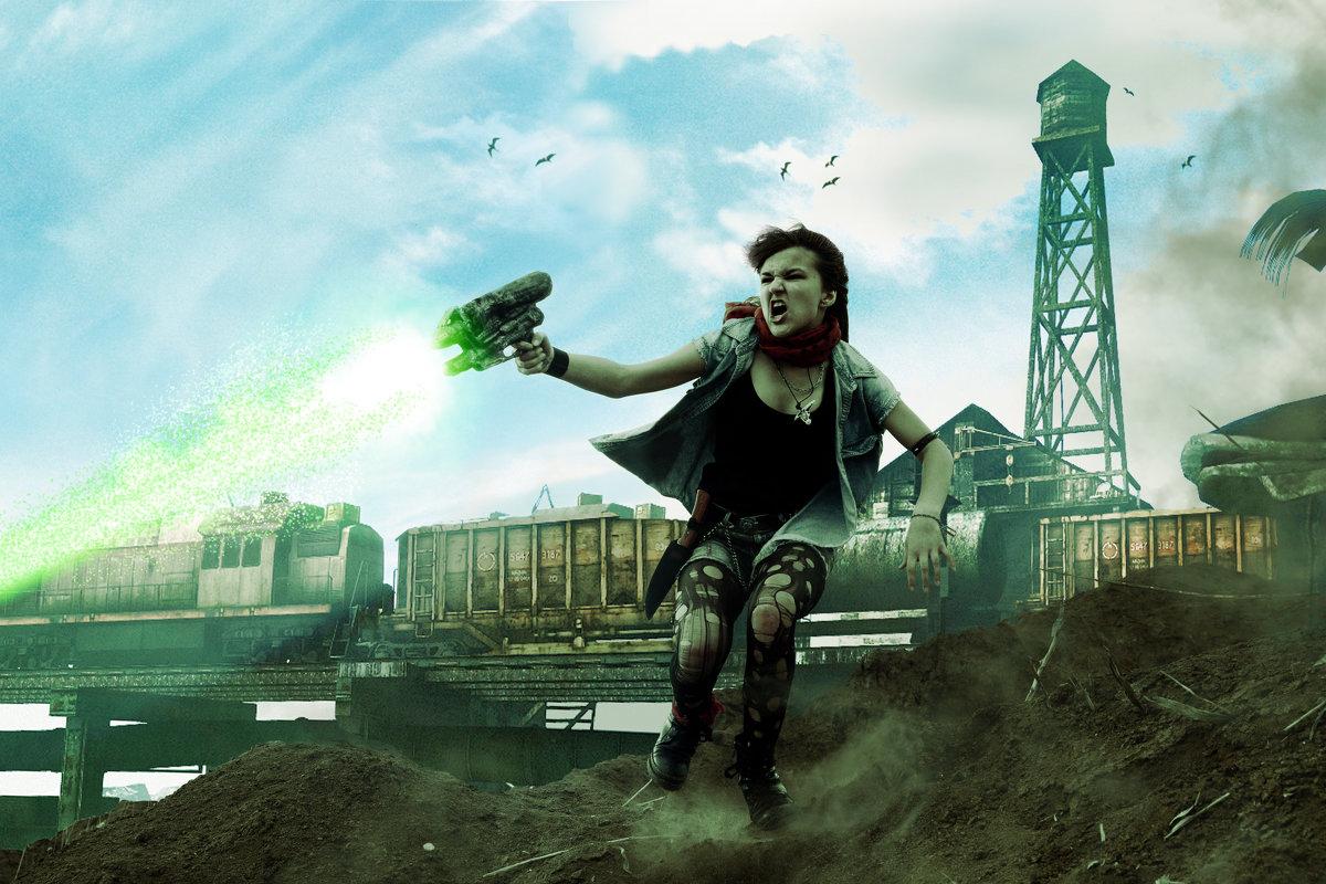 Косплей фотоарт по мотивам игры Fall Out 3 - Николай Осипенко