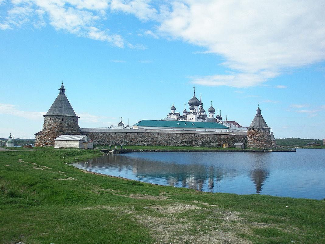 Соловецкий кремль.Святое Озеро. - Слава