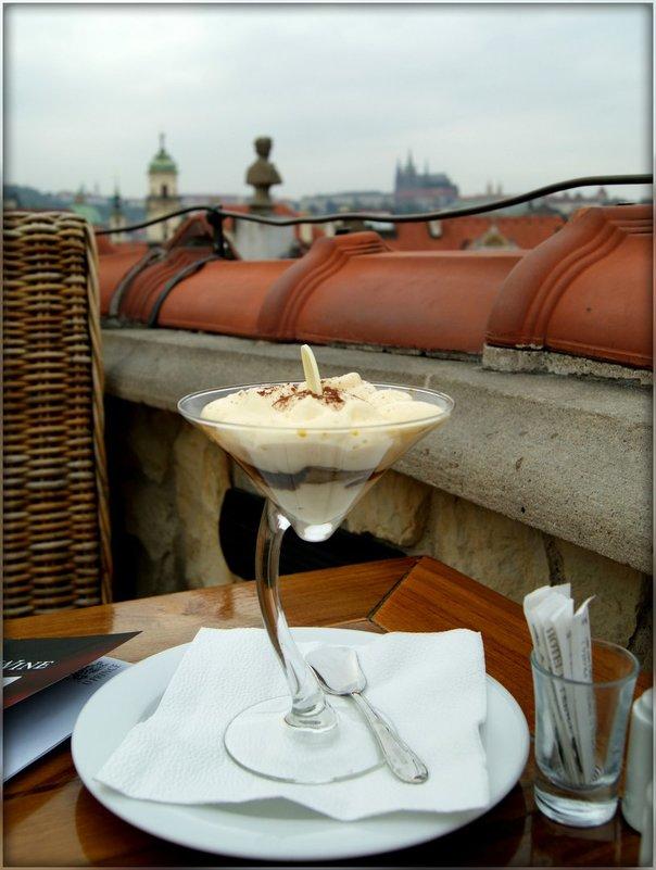 "Прага.Ресторан на крыше ""У  Принца"" - Galina Belugina"
