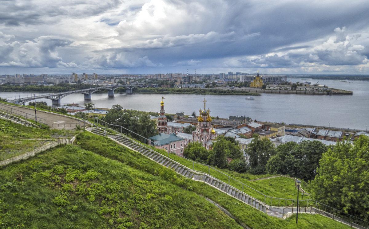 Нижний Новгород,Стрелка - Сергей Цветков