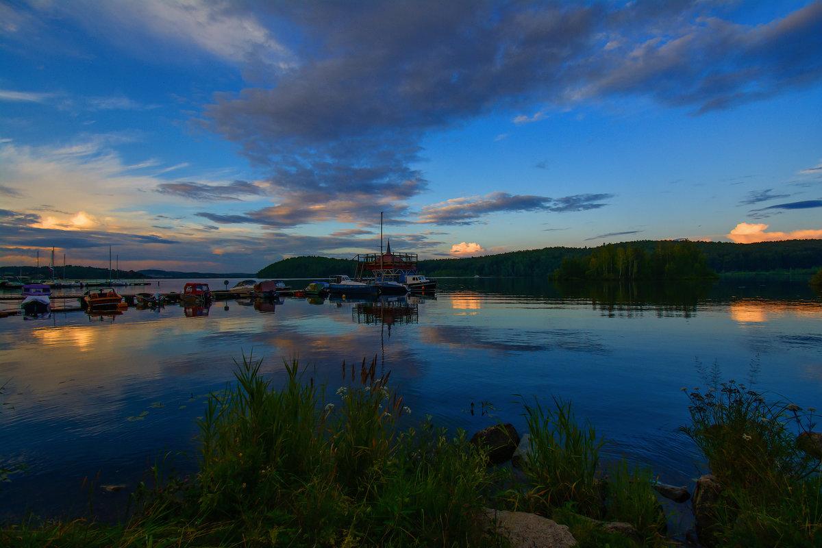Вечерние облака - vladimir Bormotov