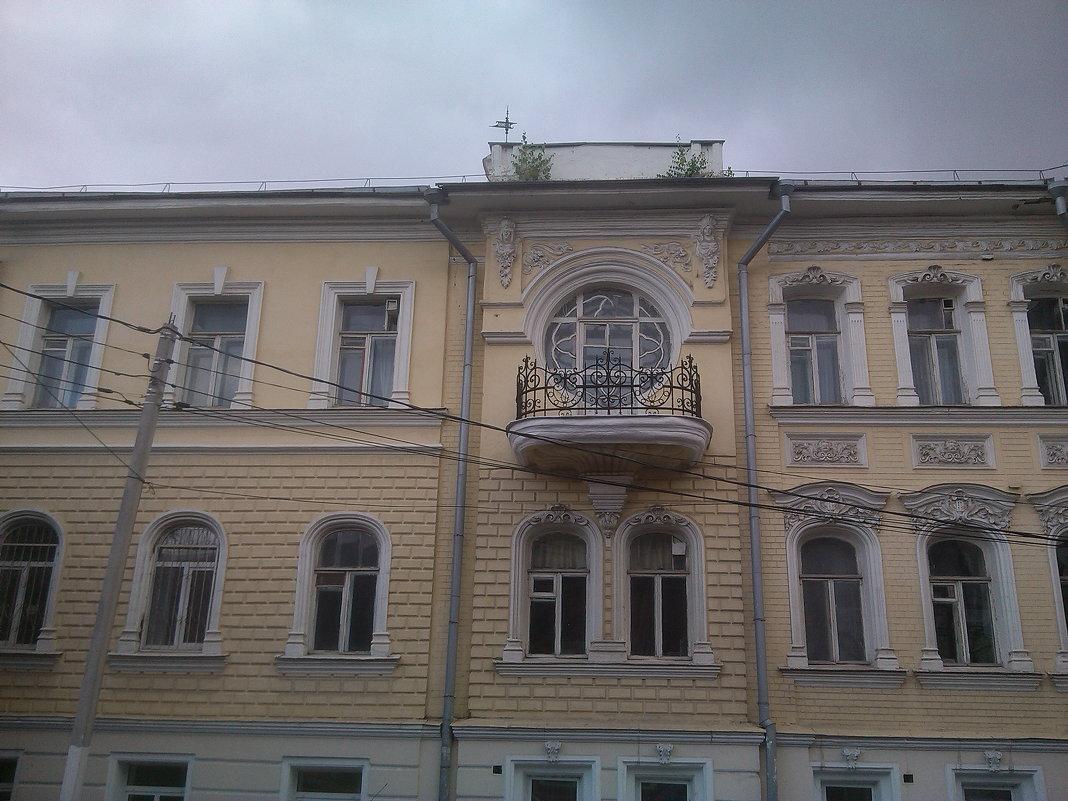 Фасад дома купца Павла Лебедева - Tarka