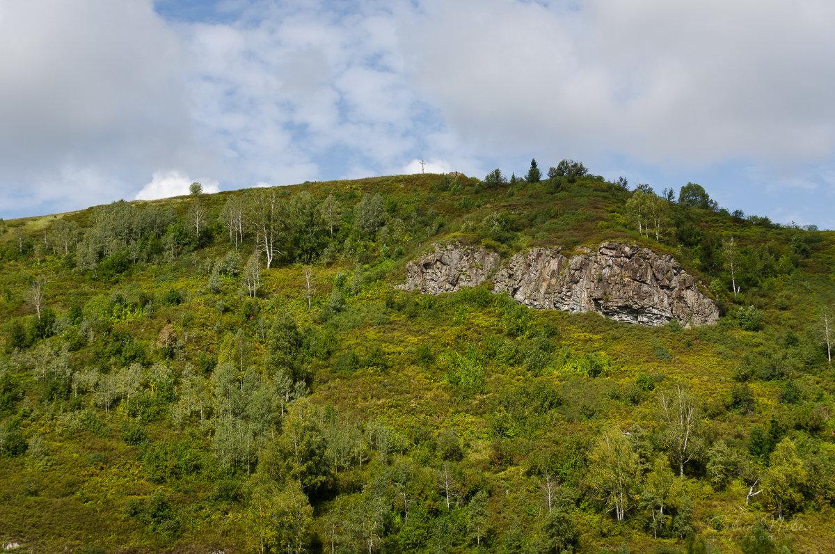 Гора с крестом в Мундыбаше - Павел Савин