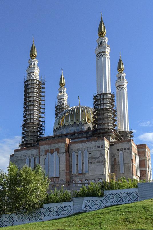 """Строящаяся соборная мечеть """"Ар-Рахим"""" в Уфе - Виктор Куприянов"""