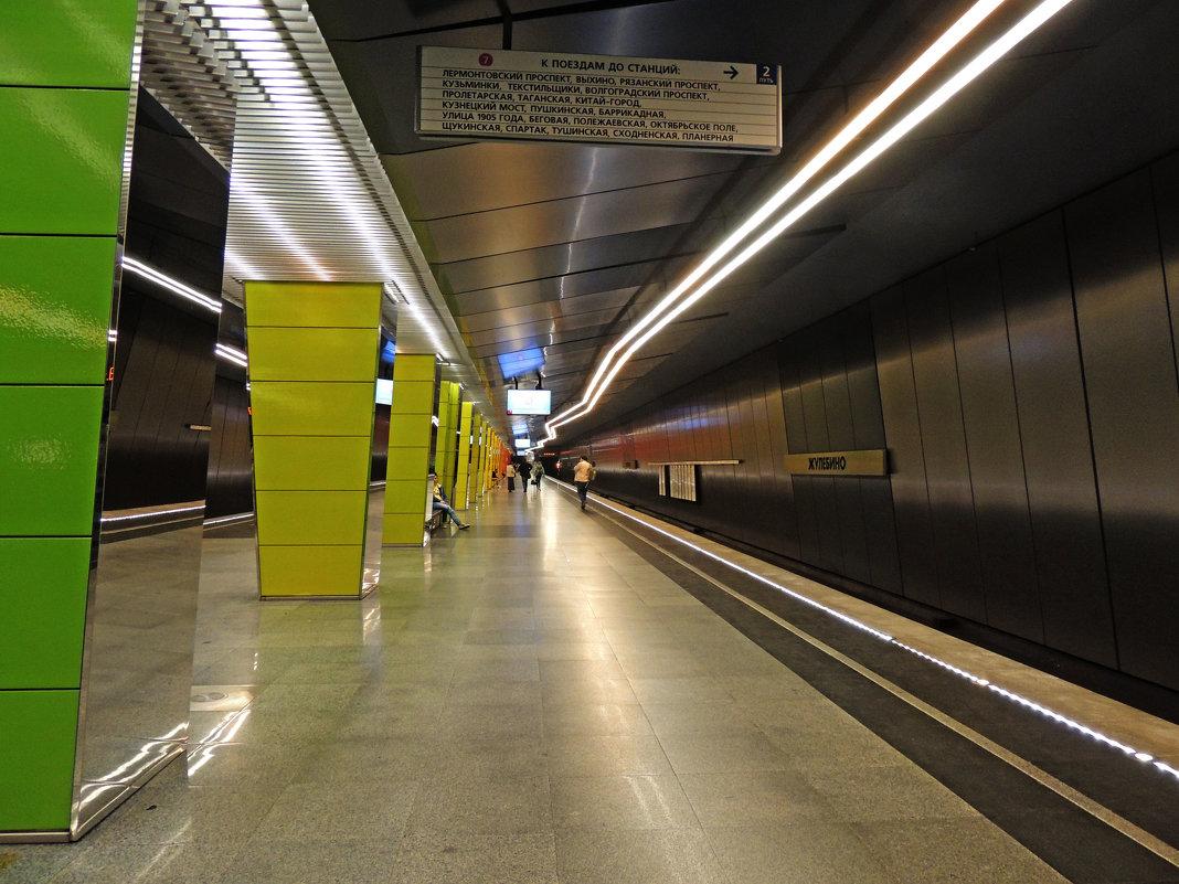 Жулебино (станция метро) (Москва) - Александр Качалин