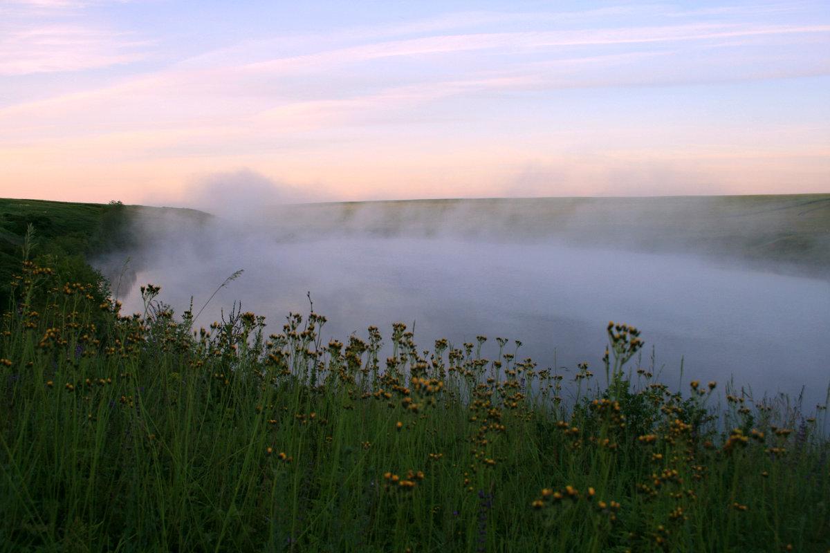 Туман укутал пелериной ... - Евгений Юрков