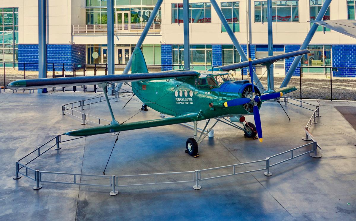 Музей авиации на территории завода Boeing - Сергей Рычков