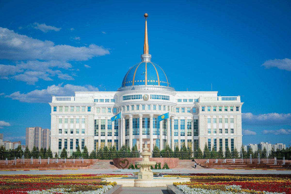 Резиденция Нурсултана Назарбаева в Астане - Владимир Belov