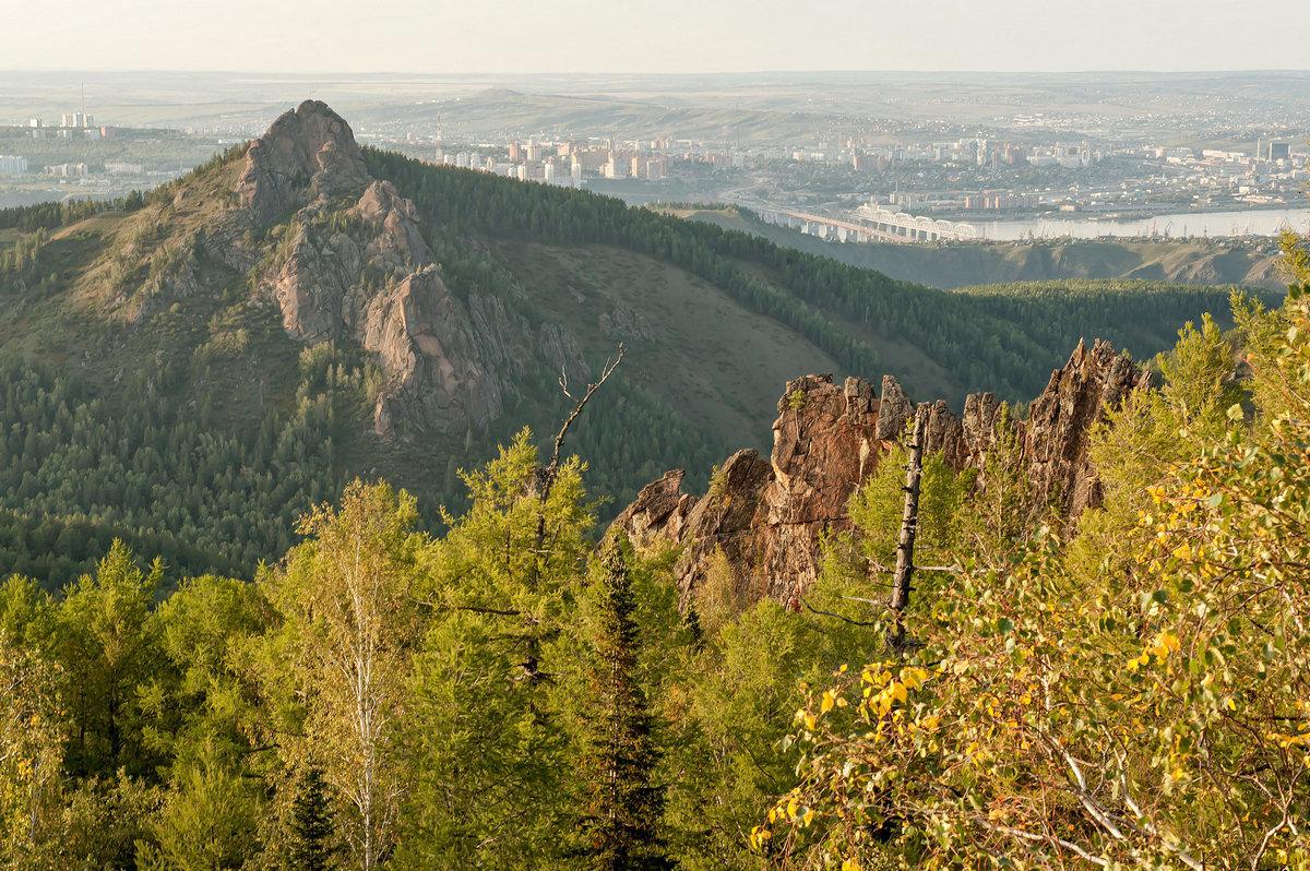 Природа и город Красноярск... - Сергей Герасимов