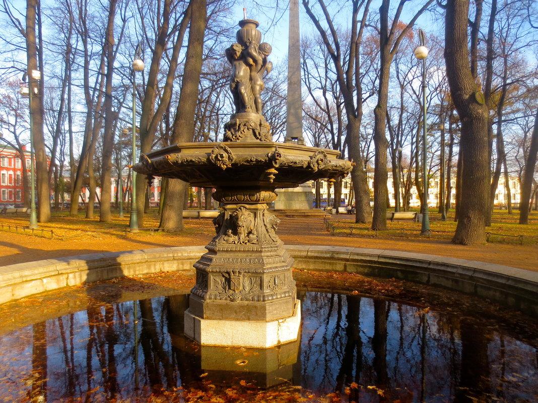 в Румянцевском саду - Елена