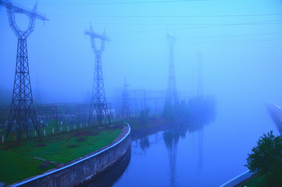 Утро. Туман - demyanikita