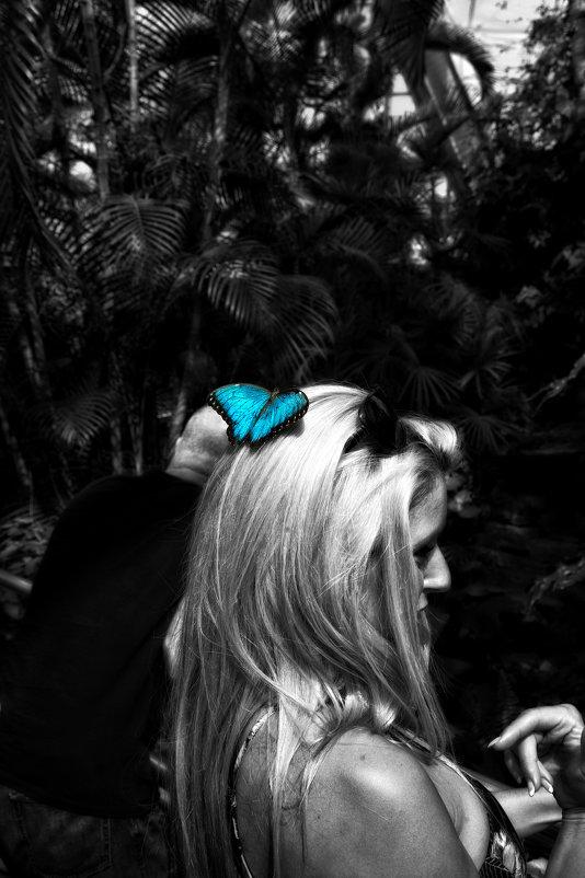 Портрет с бабочкой - Alexander Dementev