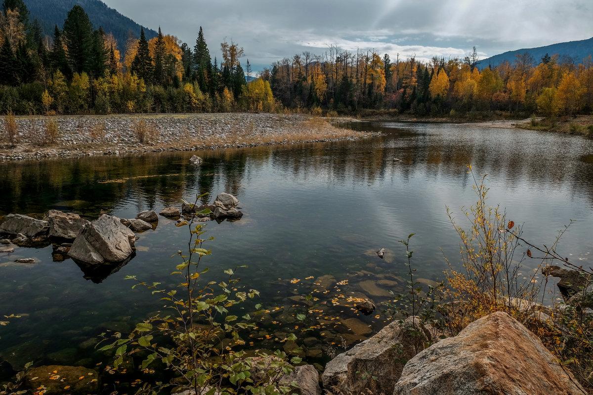 Река Снежная в районе Тёплых озёр. - Rafael