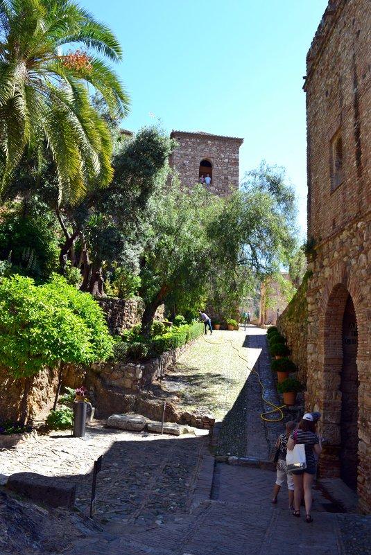 В крепости Алькасаба - Ольга