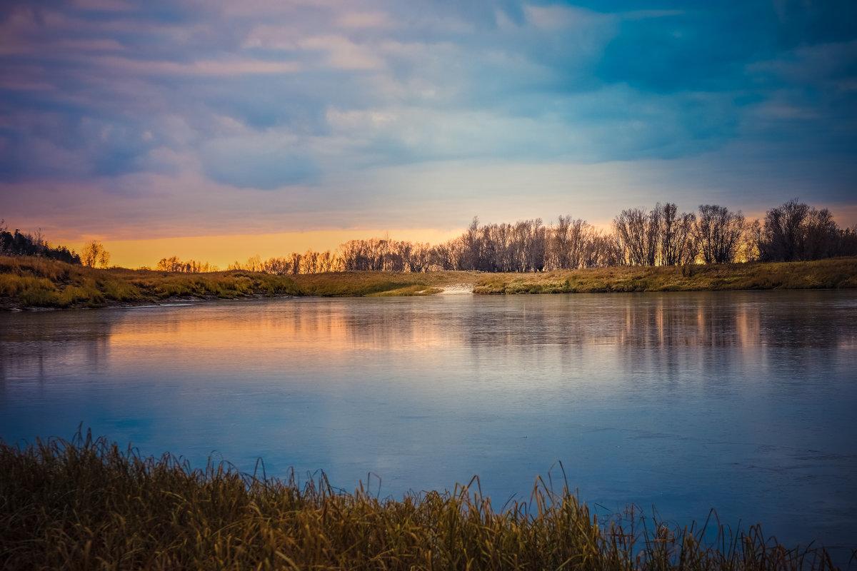 Осенний закат - Сергей Лисов