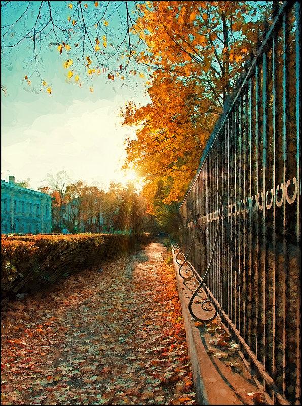 Осенний свет - Цветков Виктор Васильевич