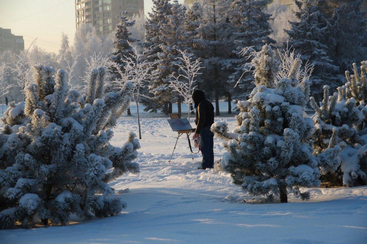 Зимнее вдохновение - vladimir