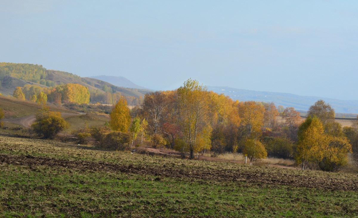 Осень в родных местах - Татьяна Соловьева