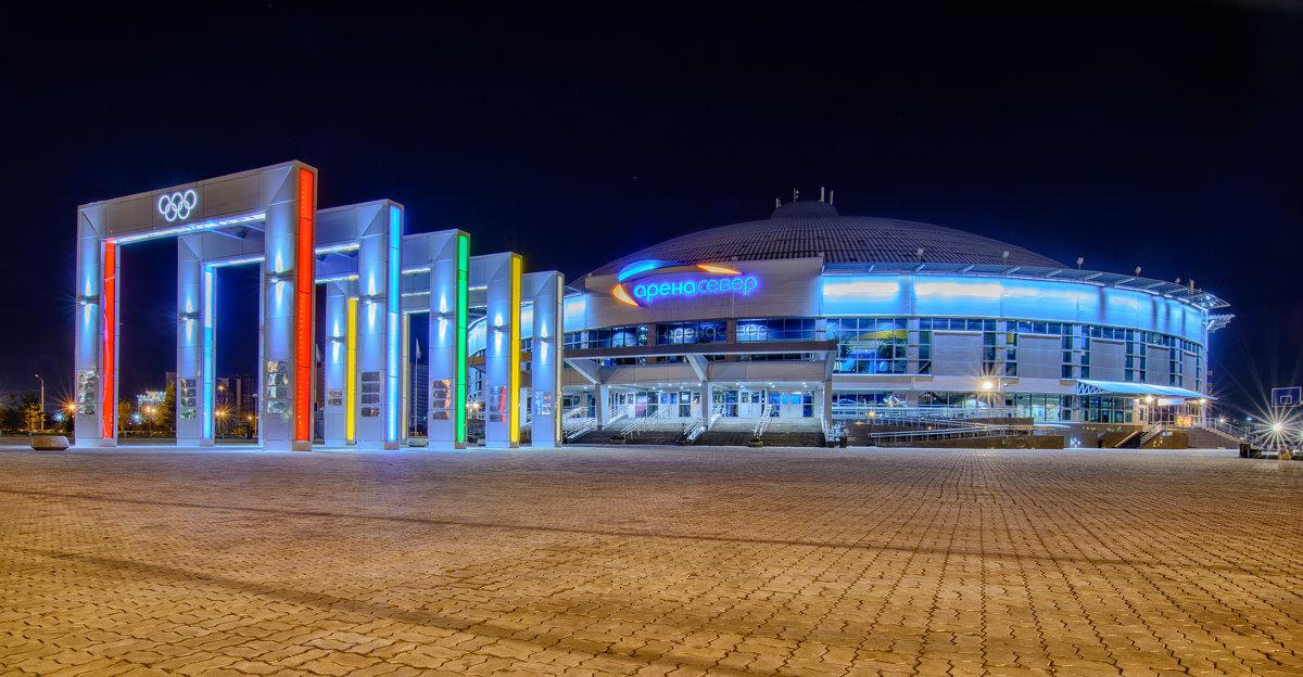Арена-Север, ледовый дворец. Красноярск. - Дмитрий Брошко