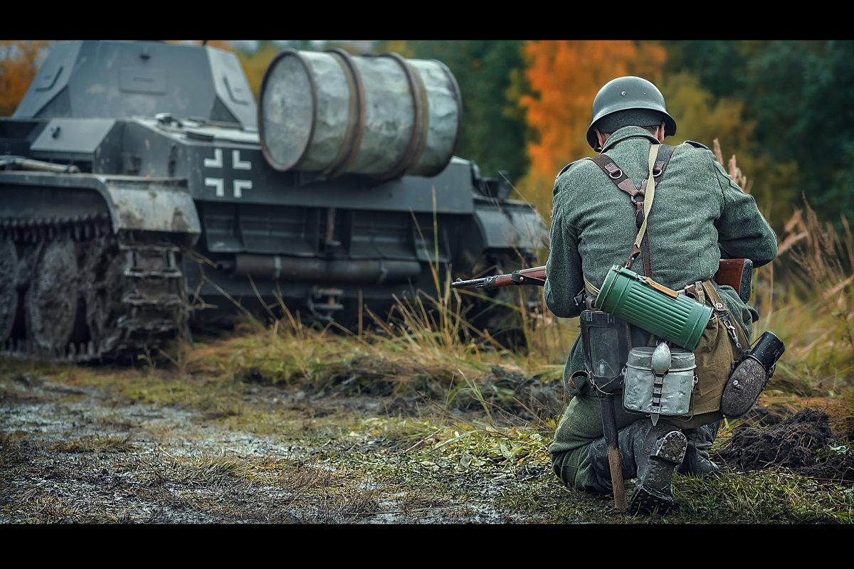 за танком - Виктор Седов