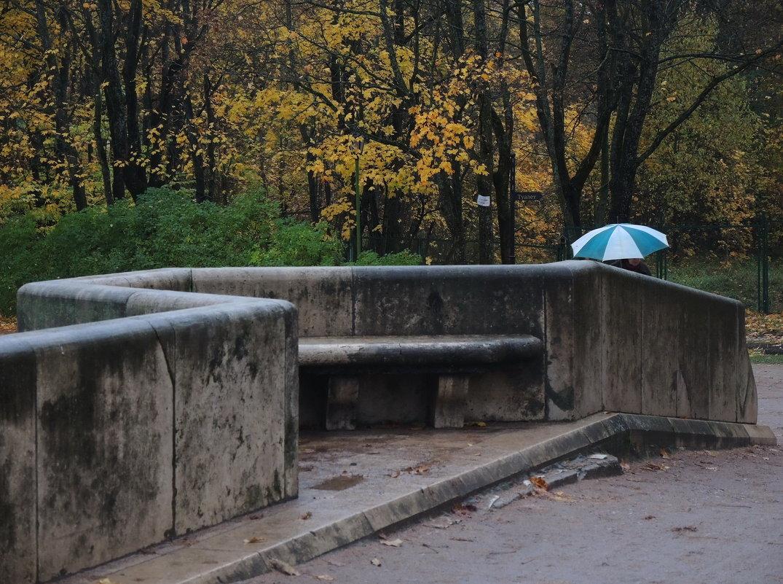 осенняя прогулка с зонтом - sv.kaschuk