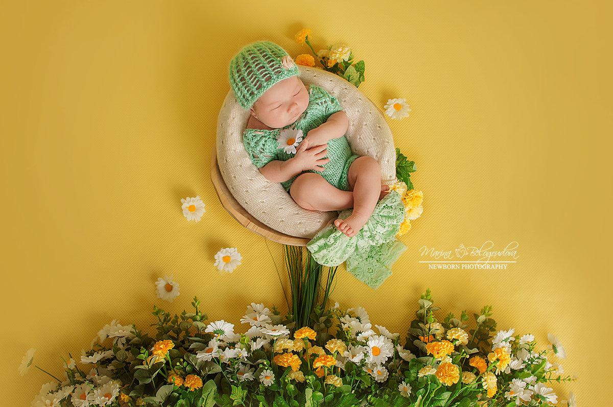 Новорожденная съемка - Марина Белогрудова
