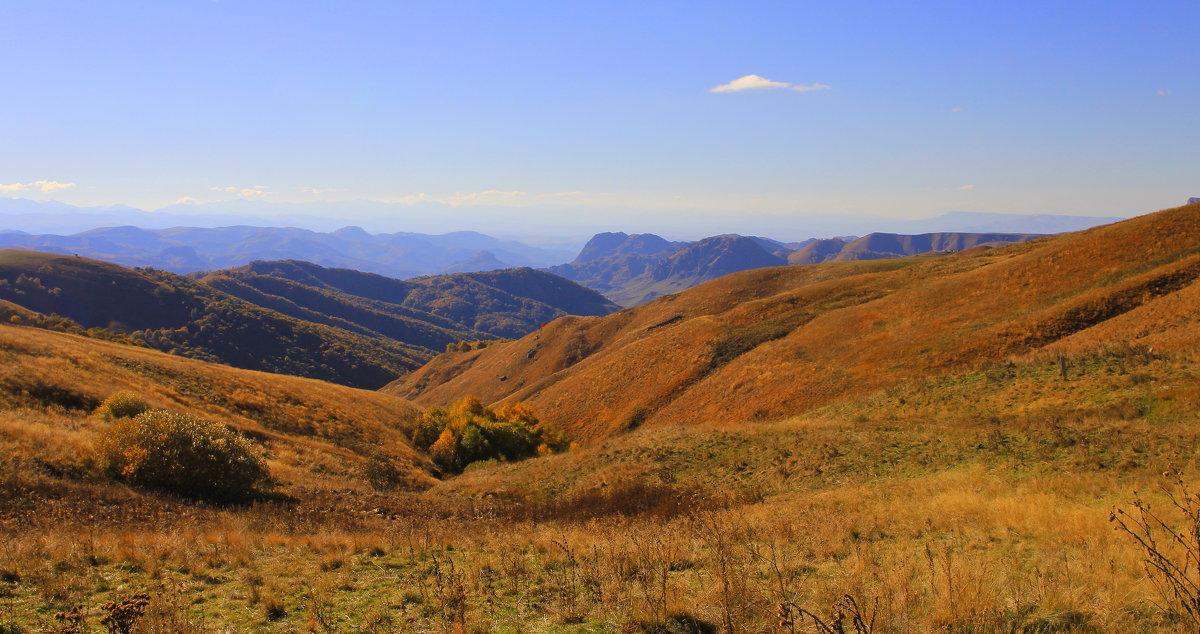 Осень в горах Кавказа. Верхняя Мара. - Vladimir 070549