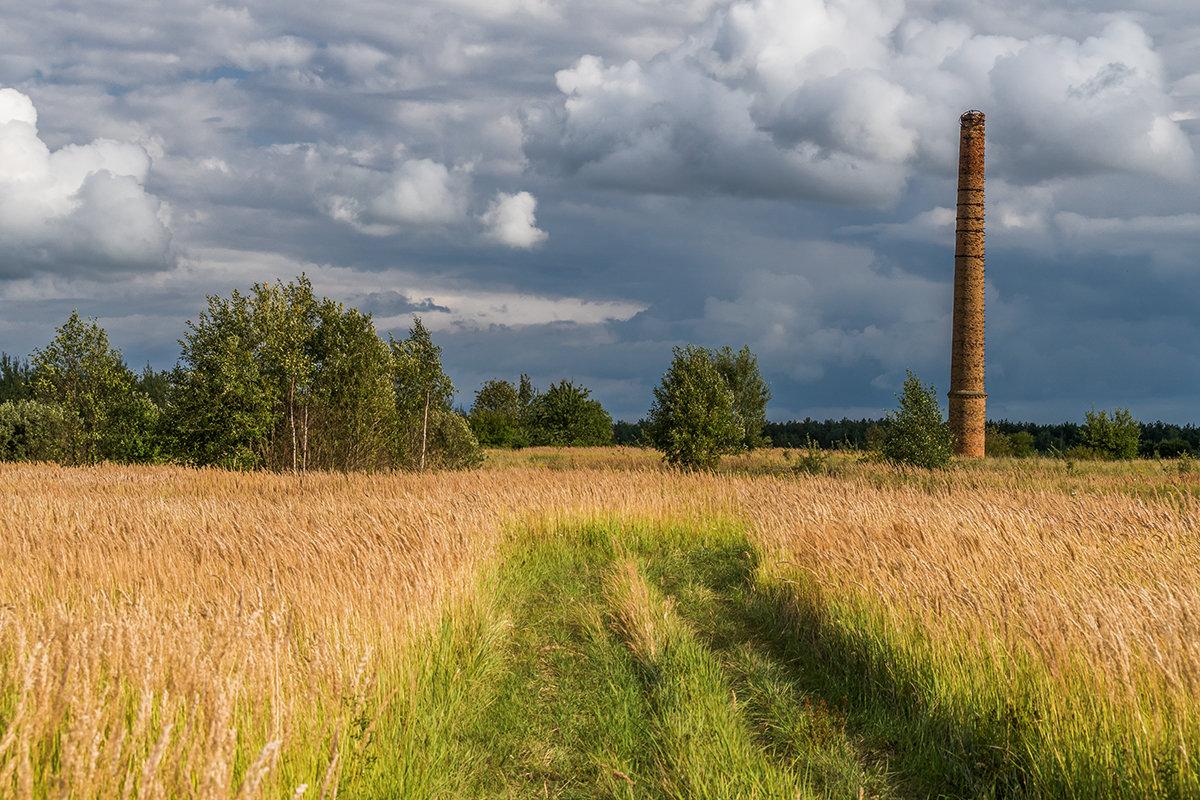 От кирпичного завода осталась лишь только кривая труба - Игорь Сикорский