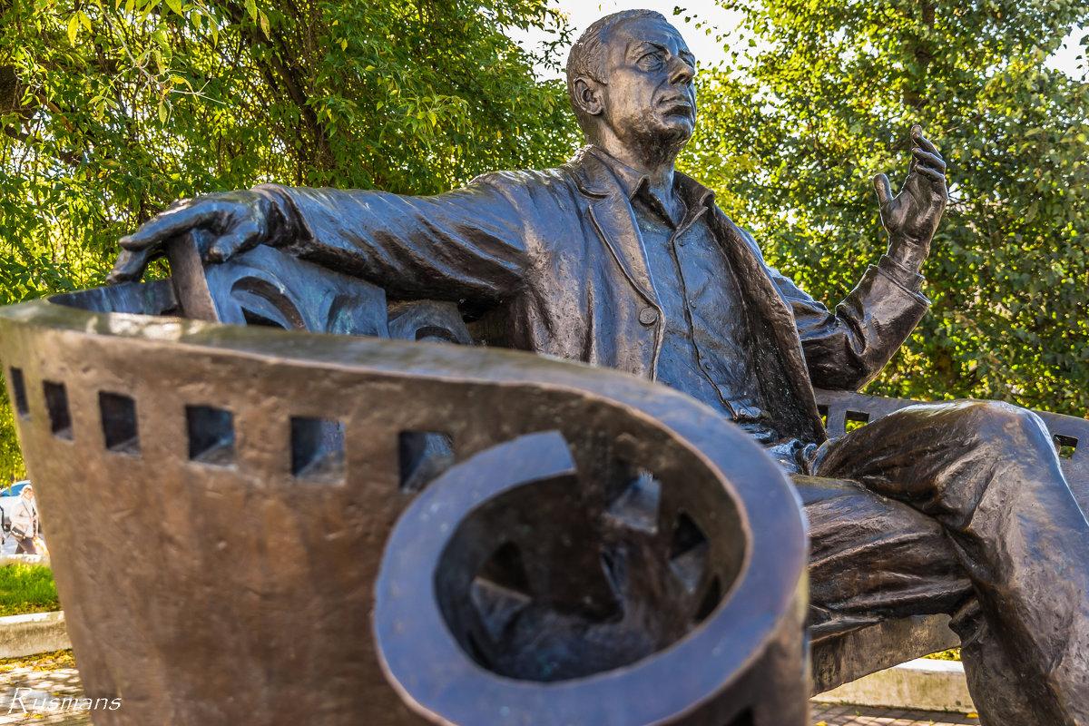 Памятник А. Папанову - Ruslan