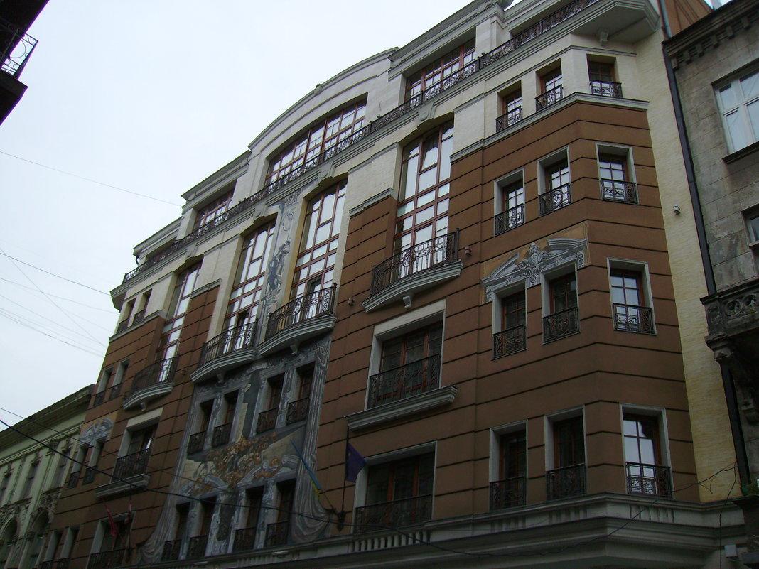 Гостиница   в   Львове - Андрей  Васильевич Коляскин