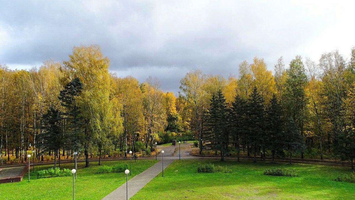 Осень в городе - Милешкин Владимир Алексеевич