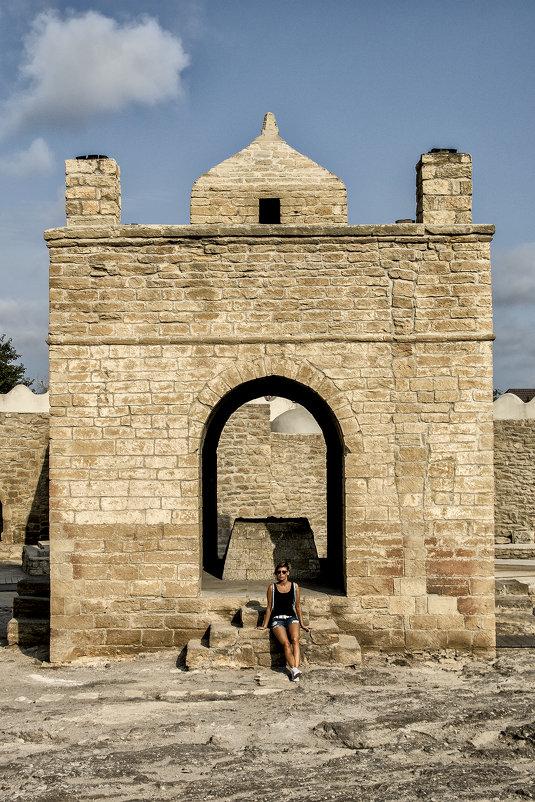 Атешгях-Храм идолопоклонников огня,недалеко от Баку... - Юрий Яньков