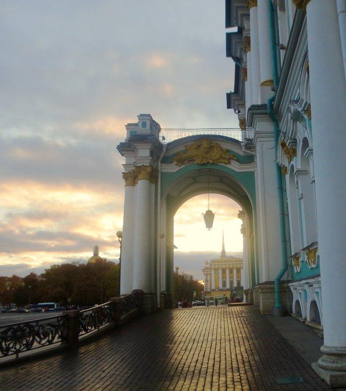 вечер на Дворцовой площади - Елена