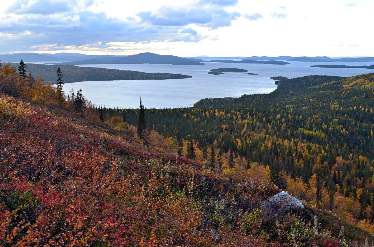 Осень в озёрном краю - Ольга
