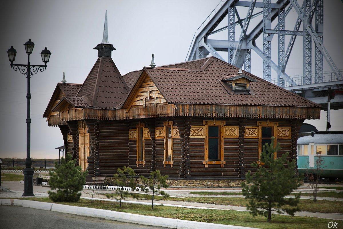 Музей истории Амурского моста (г.Хабаровск) - Оксана