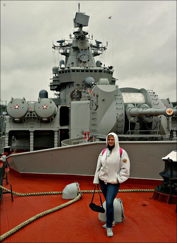 Девушка и ракетный крейсер - Кай-8 (Ярослав) Забелин