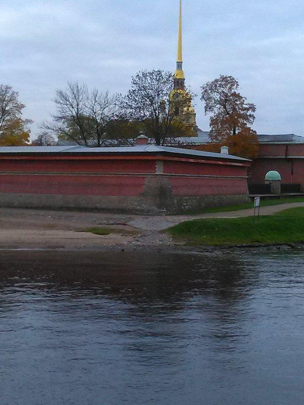 Петропавловская крепость в октябре 2017 года. - Светлана Калмыкова